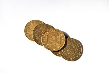 20 Schilling Münzen