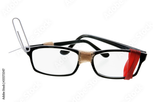 Broken Eyeglasses - 35573347