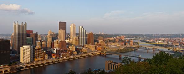 Pittsburgh panorama.