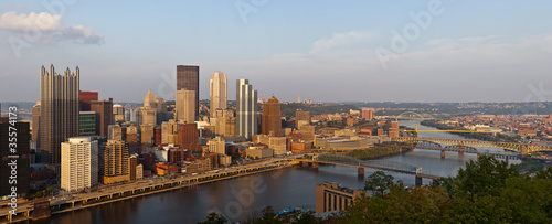 Pittsburgh panorama.