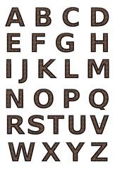 Leopard Print Alphabet