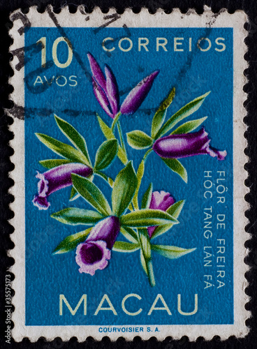 POST STAMP FROM MACAO 2