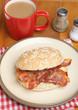 Bacon Roll & Tea