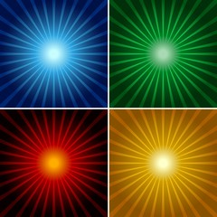 Light Rays - Abstract Background Illustrations