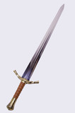 Medieval sword poster