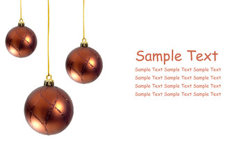 hanging ball shape christmas decor