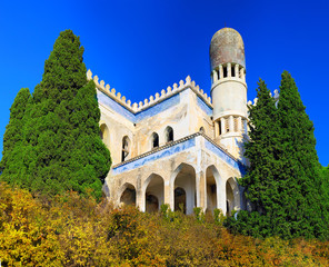 Ruins of Mosque in Semeiz, Crimea