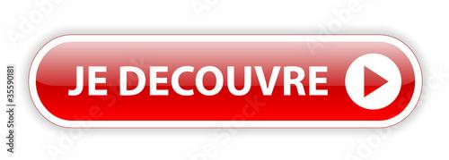 """Bouton Web """"JE DECOUVRE"""" (offre découvrir nouveau sélection)"""