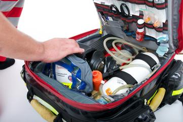 Rettungsrucksack First Responder Feuerwehr
