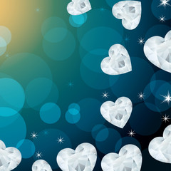 heart decoration background
