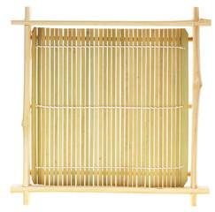 Bamboo sushi tray