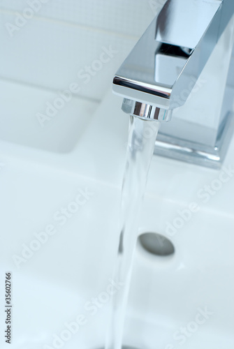 Chrome tap water