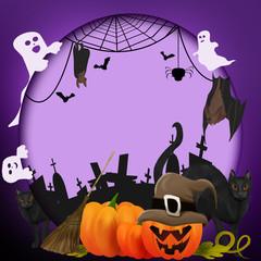 Halloween nIght frame