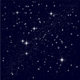 Fototapety Vector illustration of a starry sky
