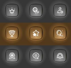 best award, rating icons