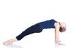 Yoga purvottanasana pose