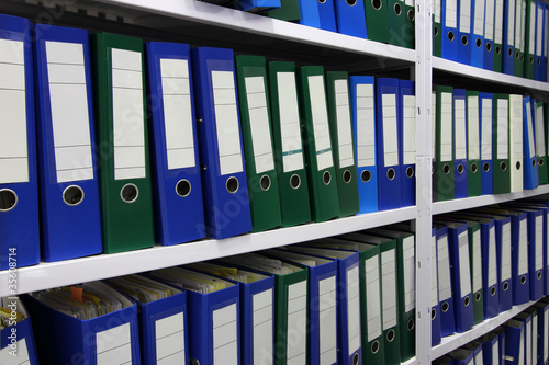 Aktenordner Verwaltung Archiv