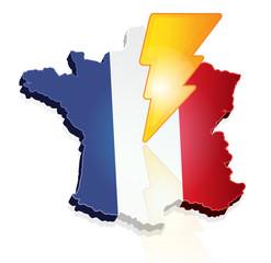 crise financière en France - éclair