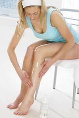 Soin des jambes -  Crème hydratante