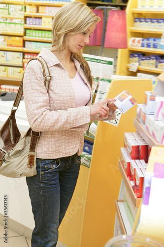 Femme - Para pharmacie