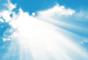 Sky background. Vector illustration