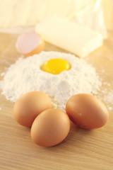 uova e farina