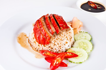 Roasted Duck with Rice3