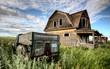 Fototapeta Starodawny - Tiry - Ciężarówka