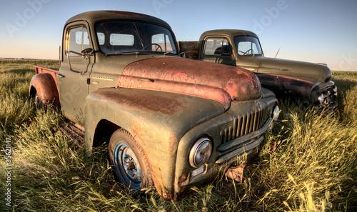 Fototapeta starodawny - ciężarówka - Ogólny widok