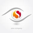 logo, s, optique, opticien, diagnostic