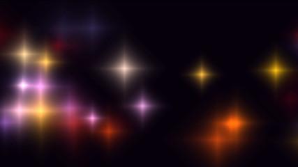 Shine stars.