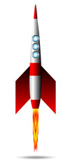 Starting rocket