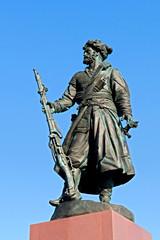 Памятник основателям Иркутска от горожан