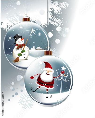 Funny Christmas balls - 35625959