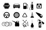 Fototapety Spare parts and accesories for car