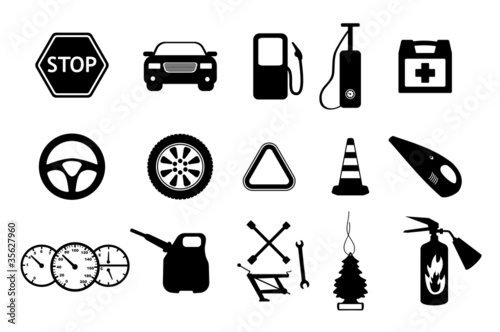 Spare parts and accesories for car
