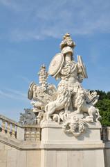 Gloriette, Vienna - Austria: Architectural detail