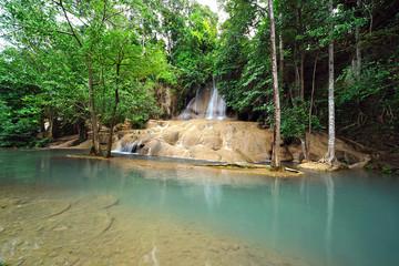 Saiyok Noi waterfall, Thailand