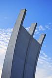 Berlin Airbridge monument at Frankfurt Airport poster
