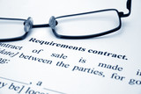 Requirement contract poster