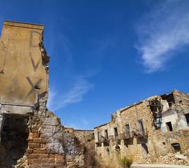 Terremoto, distruzione, catastrofe naturale