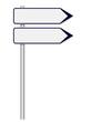 Panneaux 2 directions