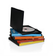 Stacked DVD cases - 35634375