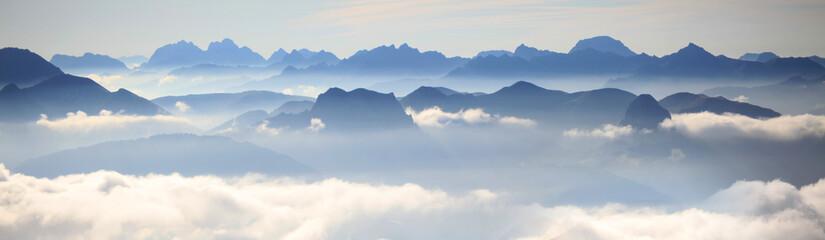 Panorama der Dolomiten