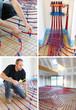 Pose plancher chauffant