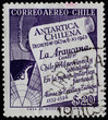 POST STAMP FROM CHILE