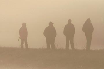 scene in a fog