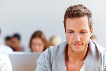 Portrait eines Studenten