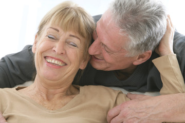 Couple senior - Complicité