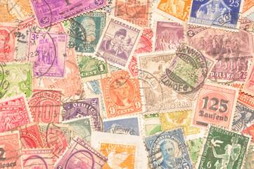Sehr alte Briefmarken von Uropa